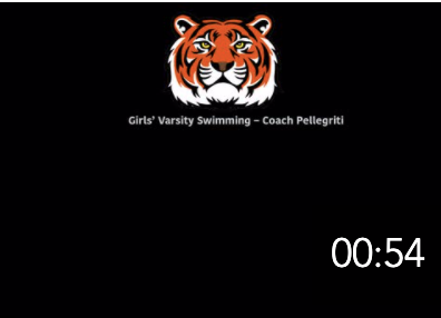 Girls' Varsity Swimming
