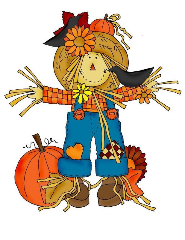 clipart picture of scarecrow