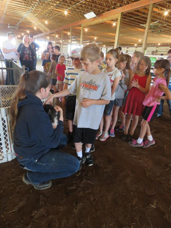 Ag Awareness Day gave students a chance to get to know more about all types of animals.
