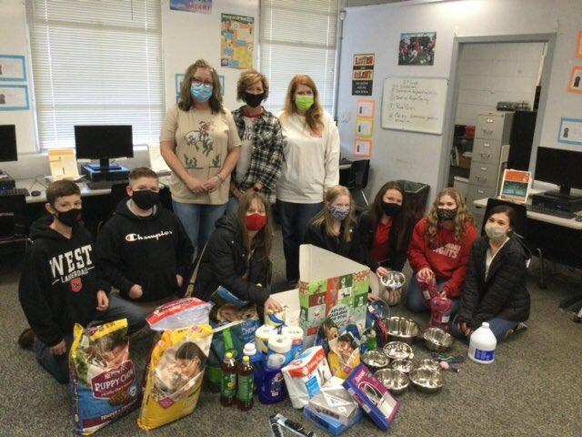WLMS FBLA Animal Rescue Project