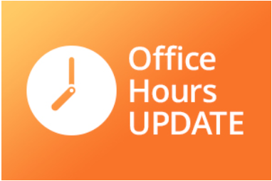 **MODIFIED OFFICE HOURS STARTING JUNE 1** Featured Photo