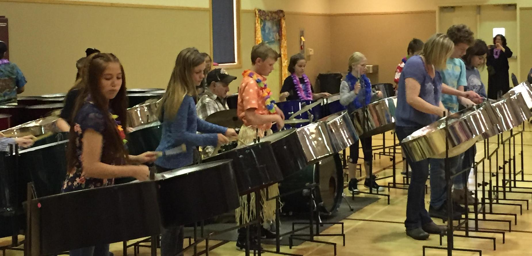 Steel Drums at Arcata Community Center