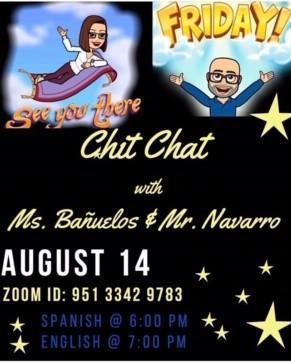 Chit Chat with Ms. Banuelos & Ms. Navarro Thumbnail Image