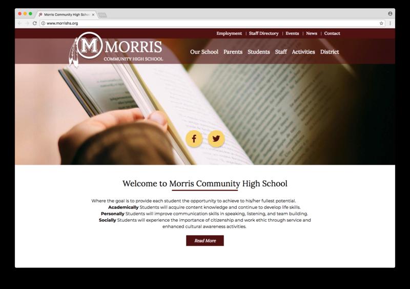 School Website Design of the Week: 7/5/2018 Featured Photo