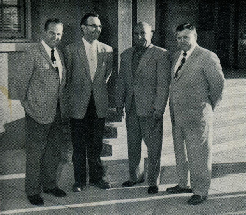 1958, Driver's Education Department