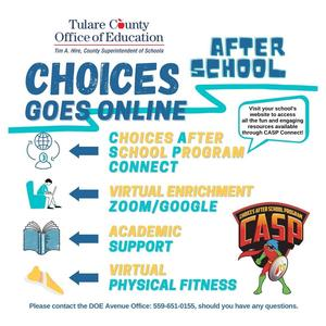Choices Flyer English
