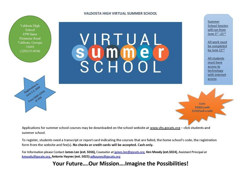 Virtual VHS Summer School