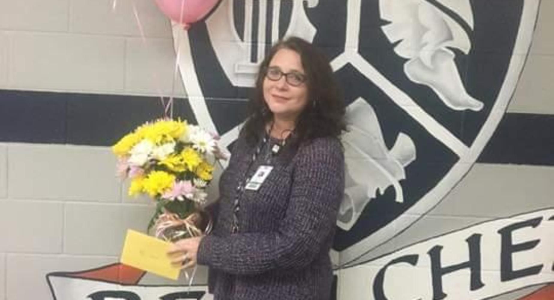 Teacher of the Year - Mrs. C. Croad