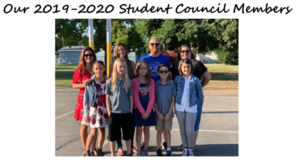 Image of Laurel's 2019-20 Student Council members