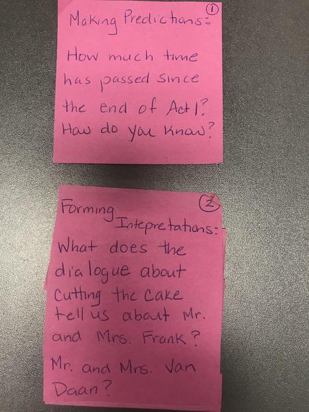 TDOAF Act 2 Scene 1 post its 1 and 2.JPG