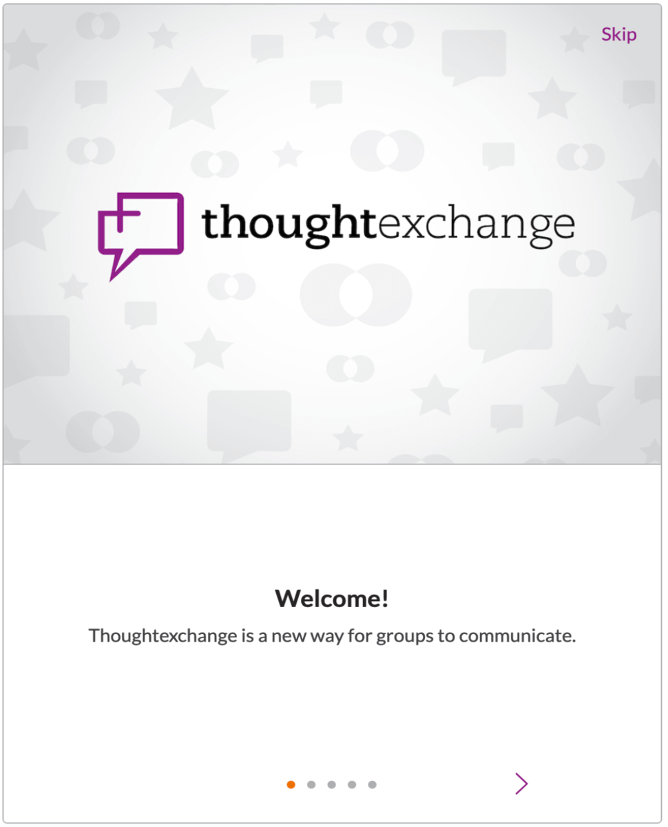 Thought Exchange One