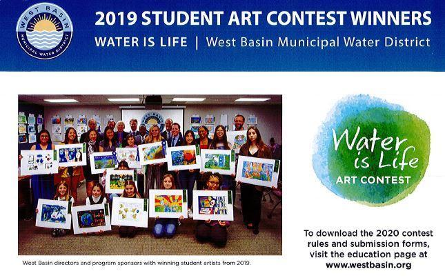 West Basin Water District 2020 Student Art Contest Thumbnail Image