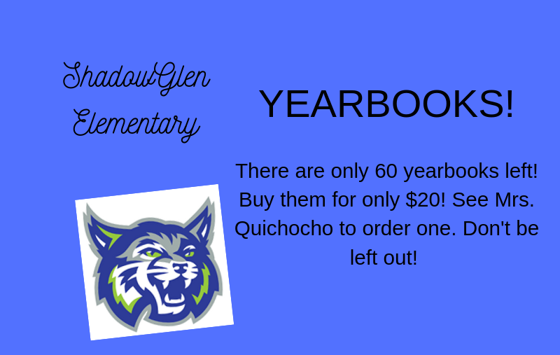 Order 2018-2019 Yearbooks today! Thumbnail Image