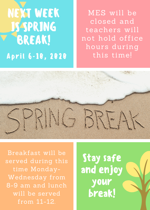 MES Spring Break Featured Photo