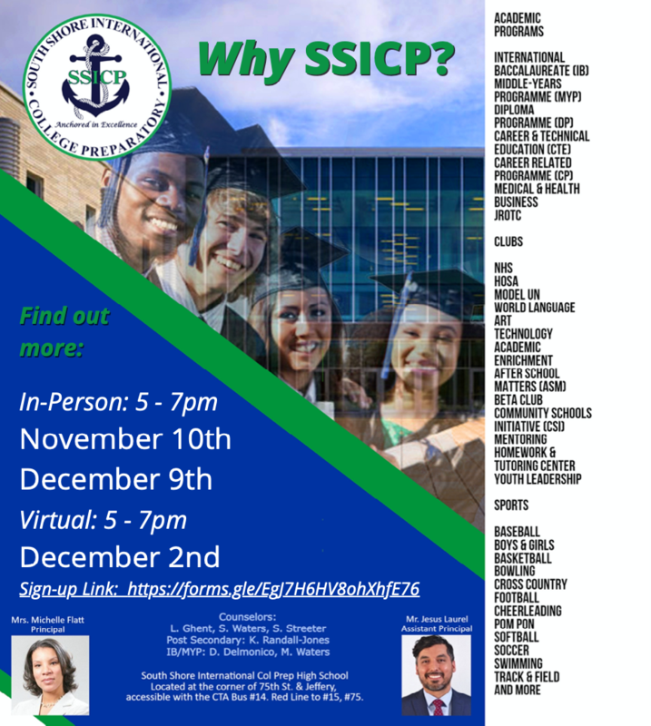 SSICP Open House Dates Featured Photo