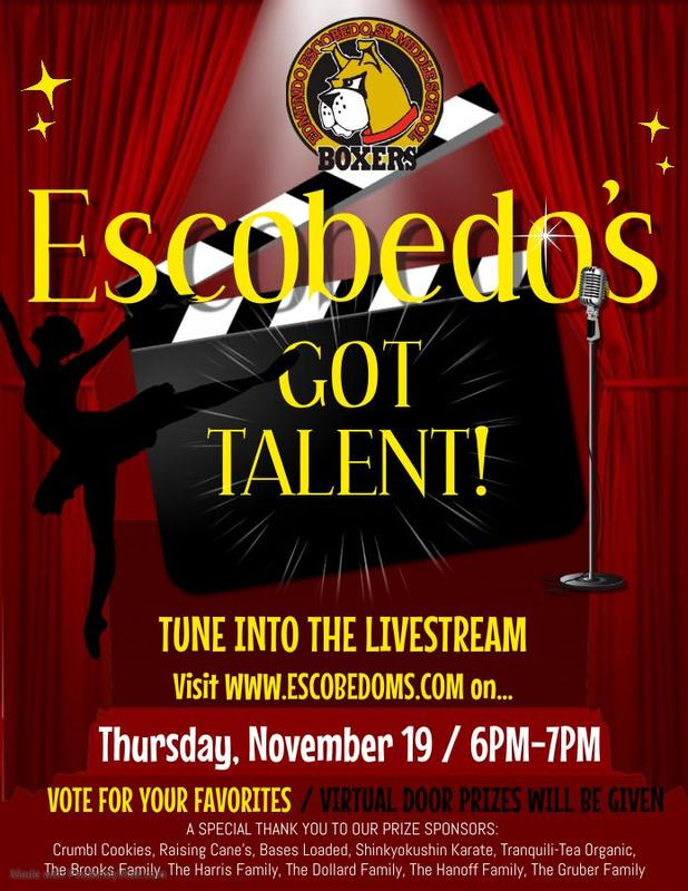 Congratulations to the winners of Escobedo's Got Talent! Featured Photo