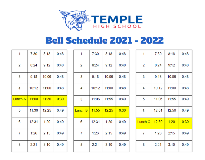 THS New bell Schedule Featured Photo