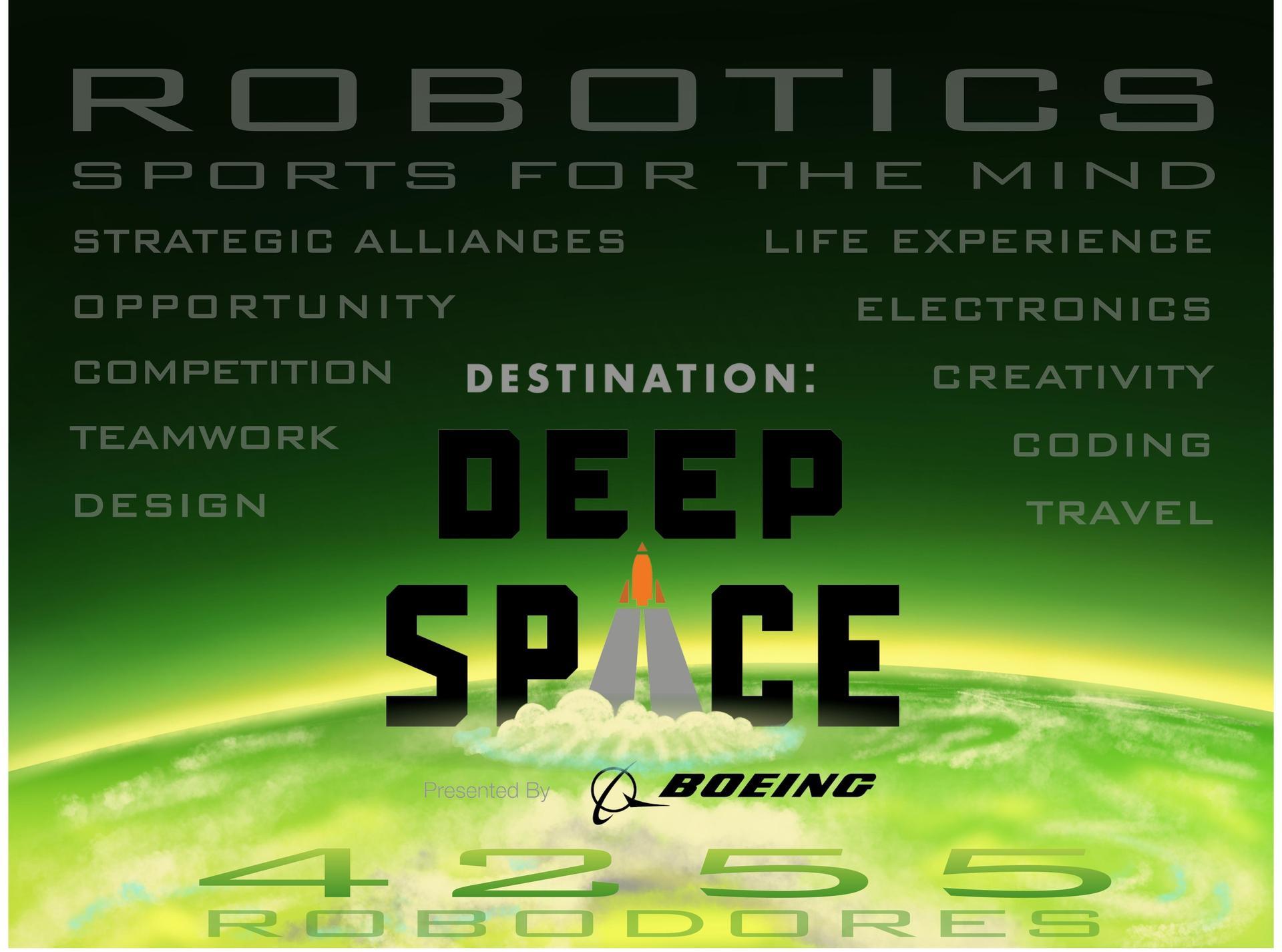 Deep Space Robotics Team Graphic