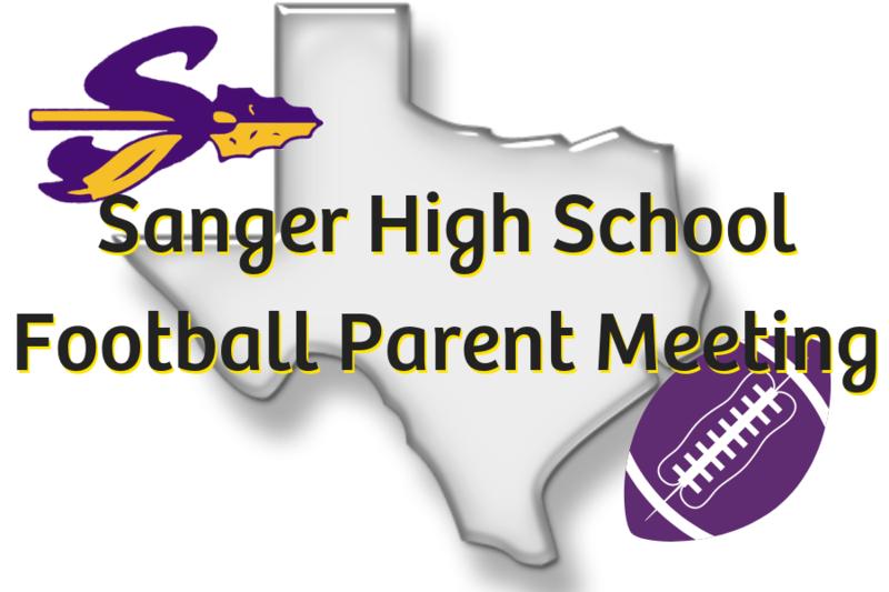 Sanger High School Football Parent Meeting