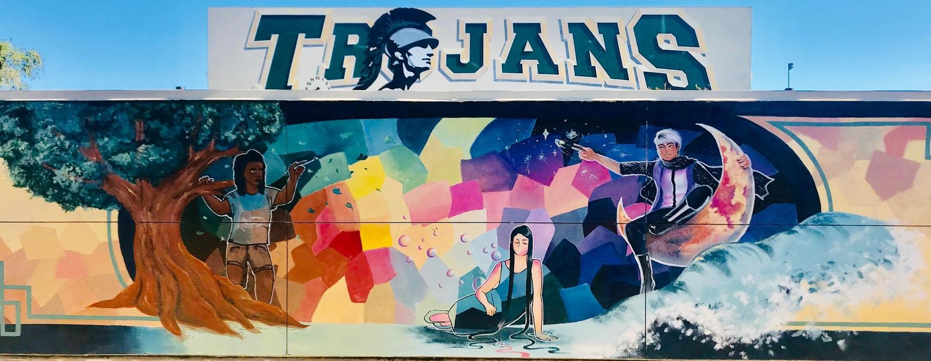 Quad mural