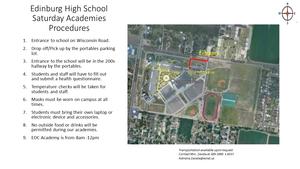 EHS Saturday Academies Procedures