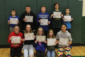 7th Grade Award Winners