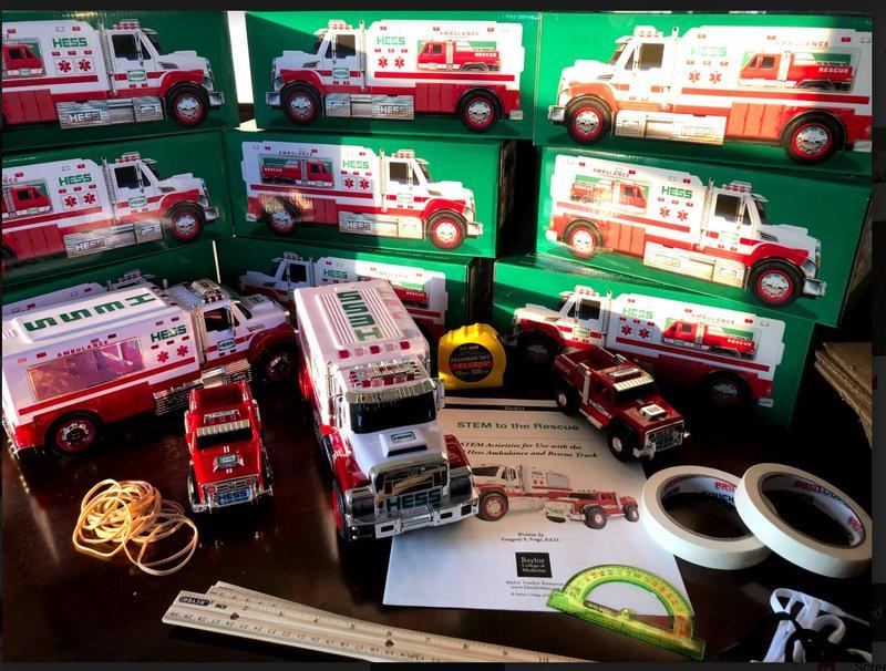 HESS Truck pile