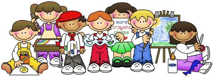 small clipart of children