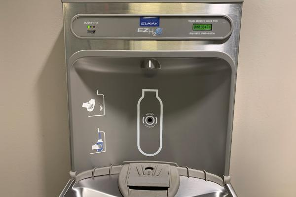 New touchless water dispensers installed Thumbnail Image