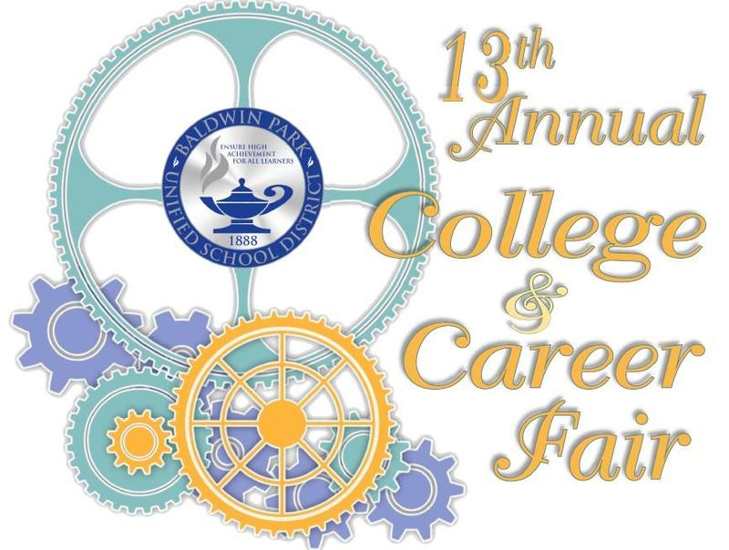 Baldwin Park Unified School District is gearing up for its 13th annual College and Career Fair, to be held from 9 a.m. to 1:30 p.m. on Saturday, Sept. 28 at Sierra Vista High School.