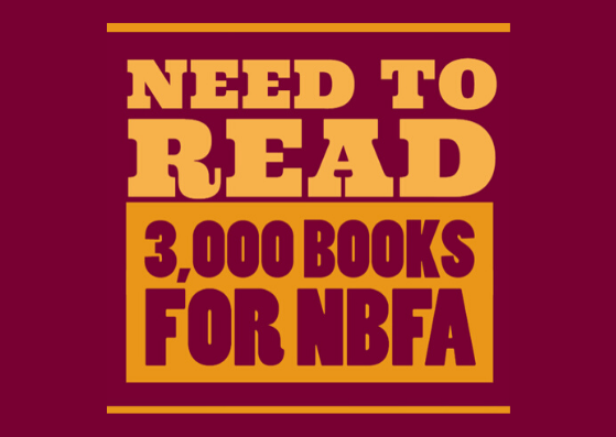 Need to Read! 3,000 Books for NBFA Featured Photo