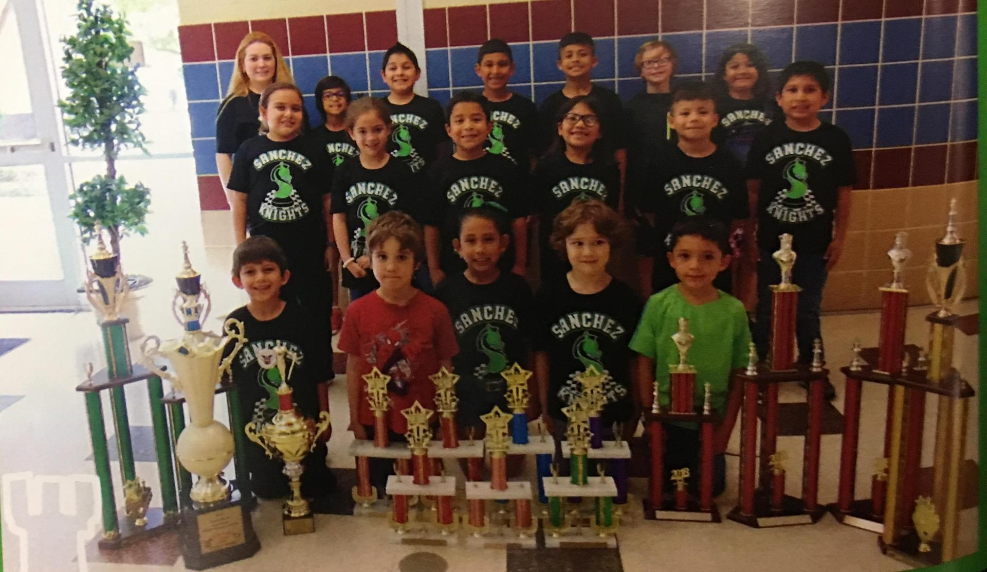 Sanchez Chess Team