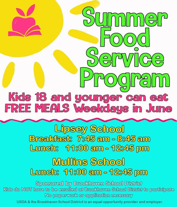 Summer Feeding Program - June 2019 Thumbnail Image