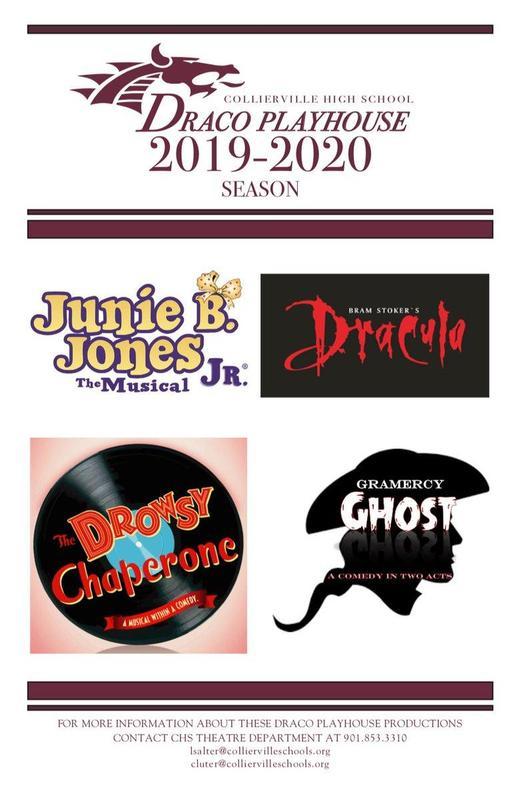 CHS Draco Playhouse 2019-2020 Season Announced Featured Photo