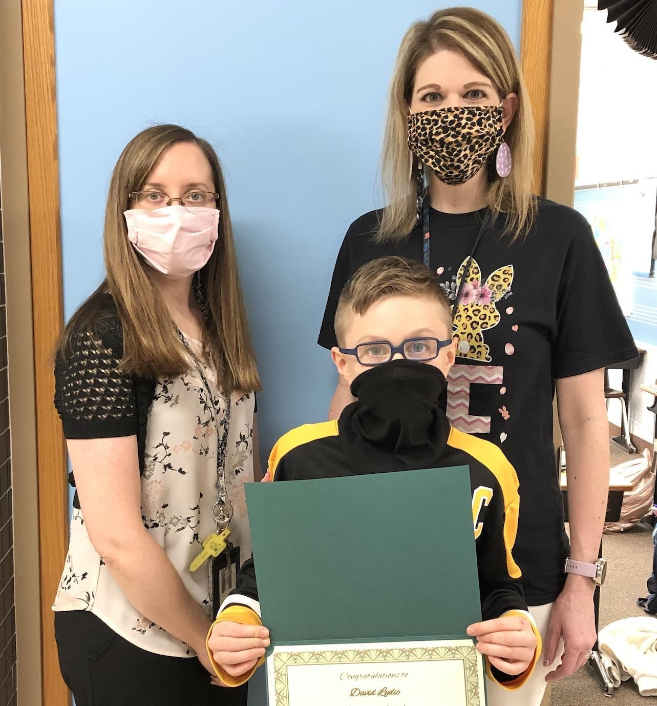 david lydic student of the month