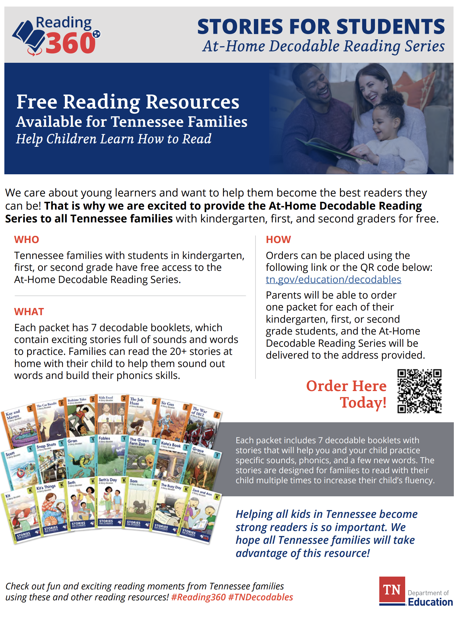 Free Decodable Readers