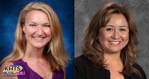 Assistant Principal, Nicole Price and Principal, Vivian Fiss