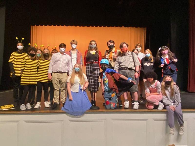 Glynn Academy One-Act Team.