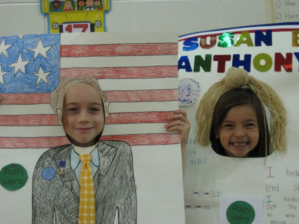 Wax Museum-Susan B. Anthony