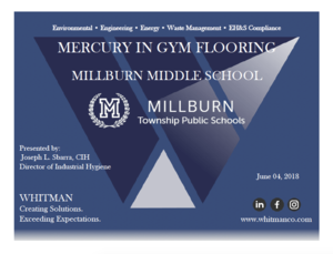 Mercury Presentation Cover page