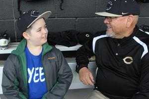 Brody Nelson with Coach Paul Chavez