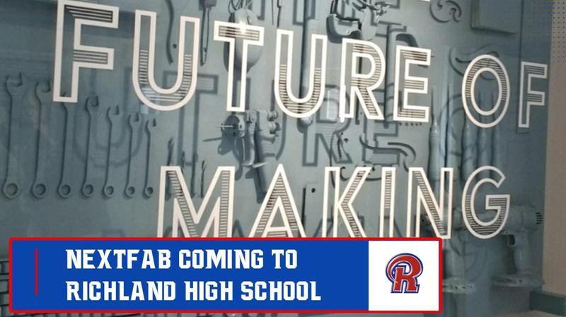 NextFab coming to Richland High School - Tribune Democrat July 12th Article Featured Photo