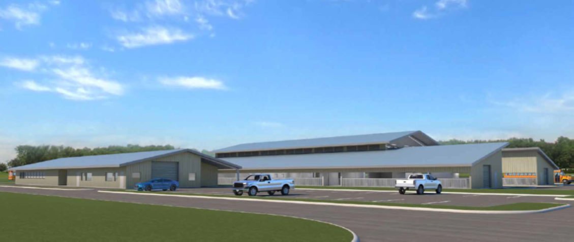 Ag Science Project Center Rendering