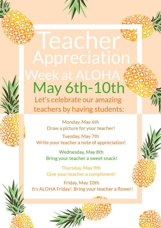 Teacher & Staff Appreciation Week Featured Photo