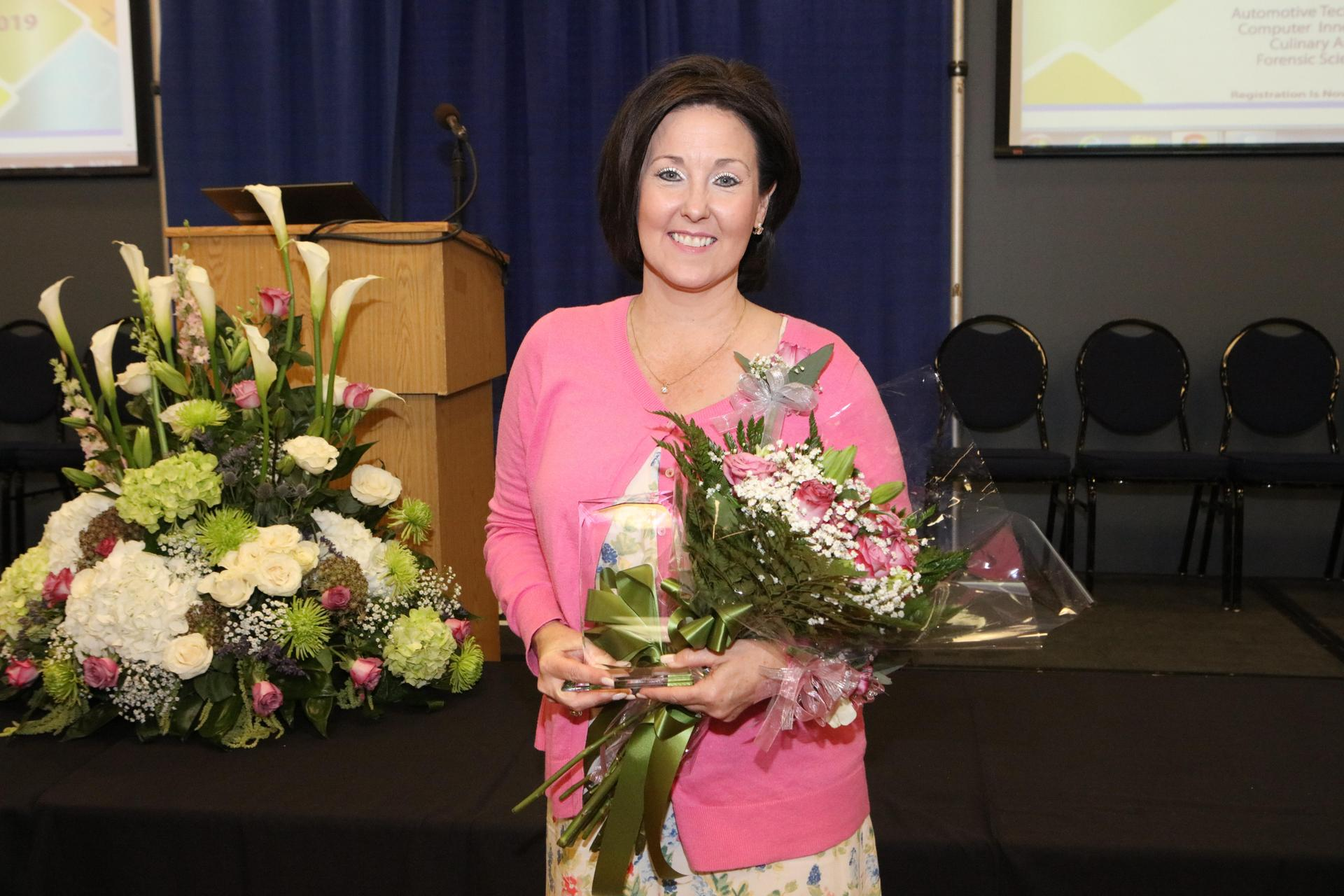 2019-2020 District Elementary Teacher of the Year, Michelle Frazier