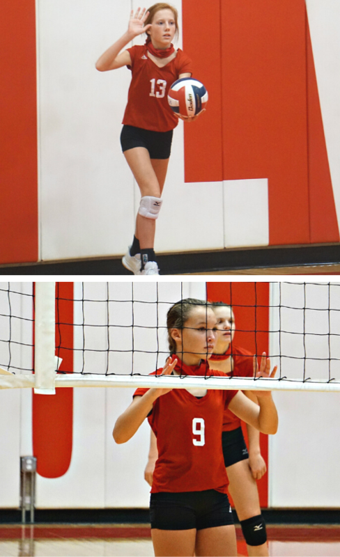 pictures of volleyball players