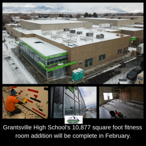 GHS addition to be complete next month