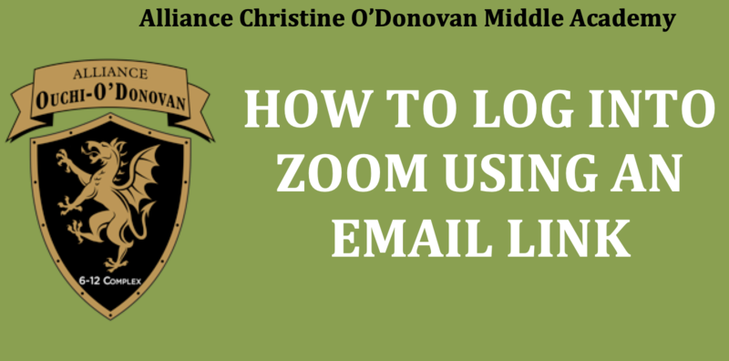 How to log in to Zoom using an email link Thumbnail Image