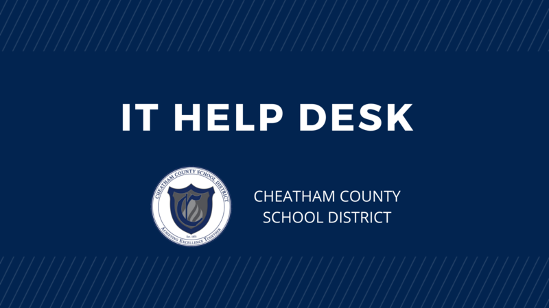 IT Help Desk information