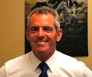 Pershing Principal Nick Hustedde